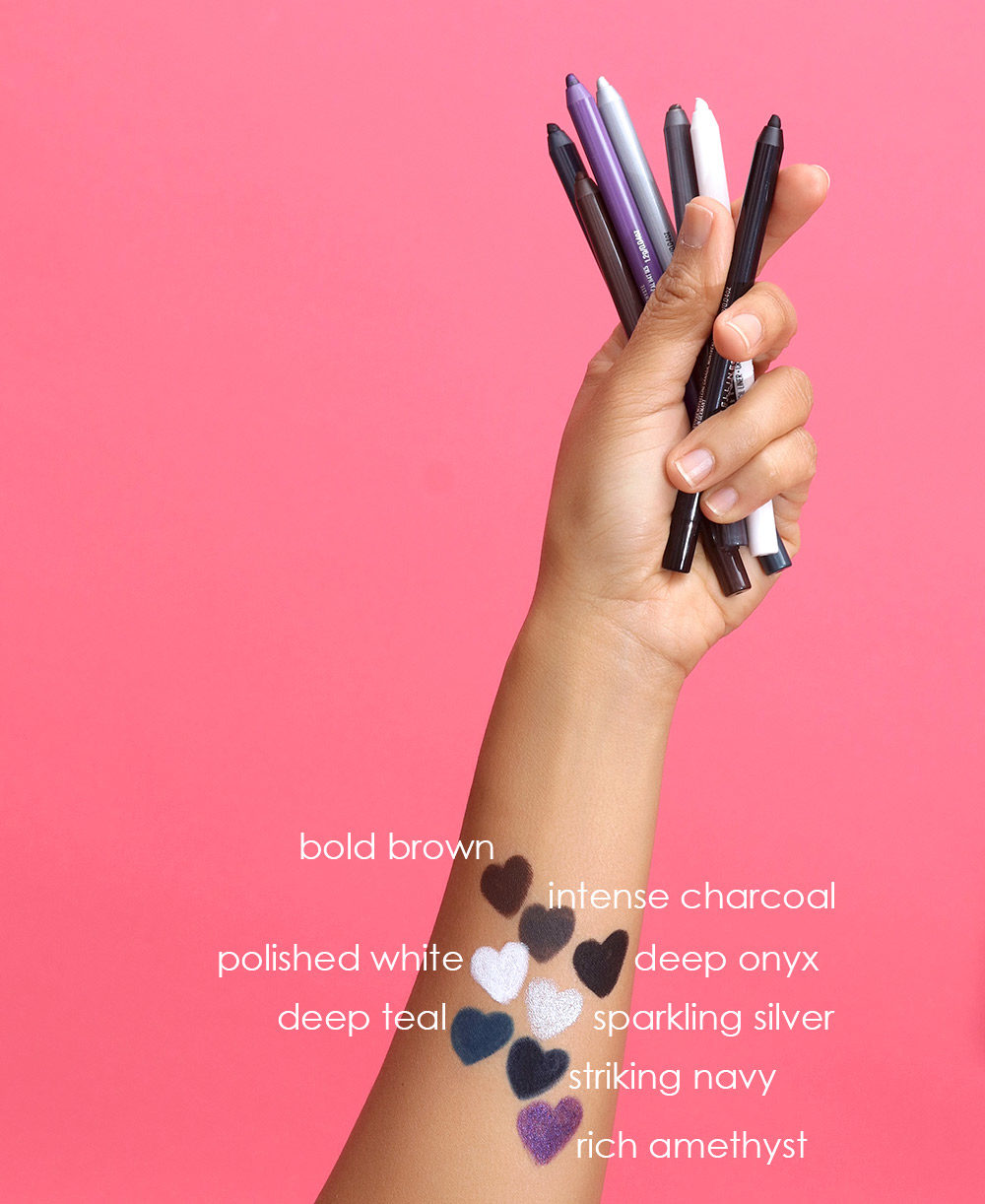 maybelline tattoo studio eyeliner pencil swatches