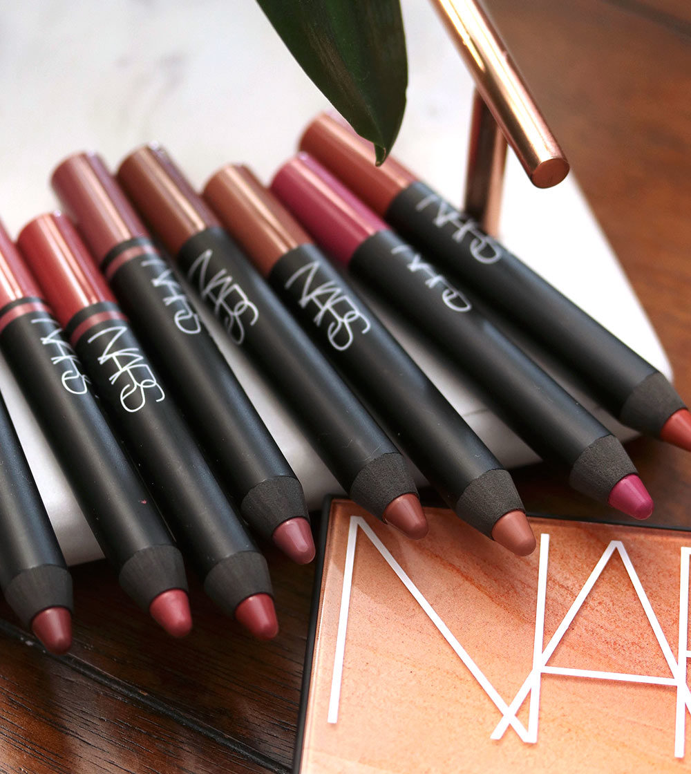 nars summer 2019 satin lip pencil velvet matte lip pencil
