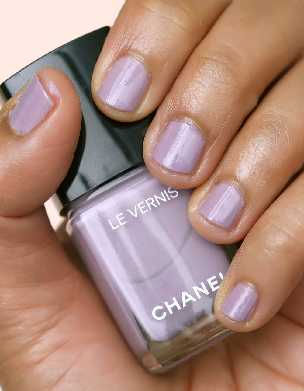 chanel purple ray swatch day 1