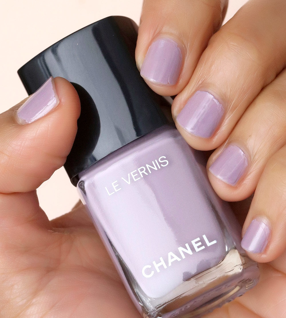 chanel purple ray swatch day 6