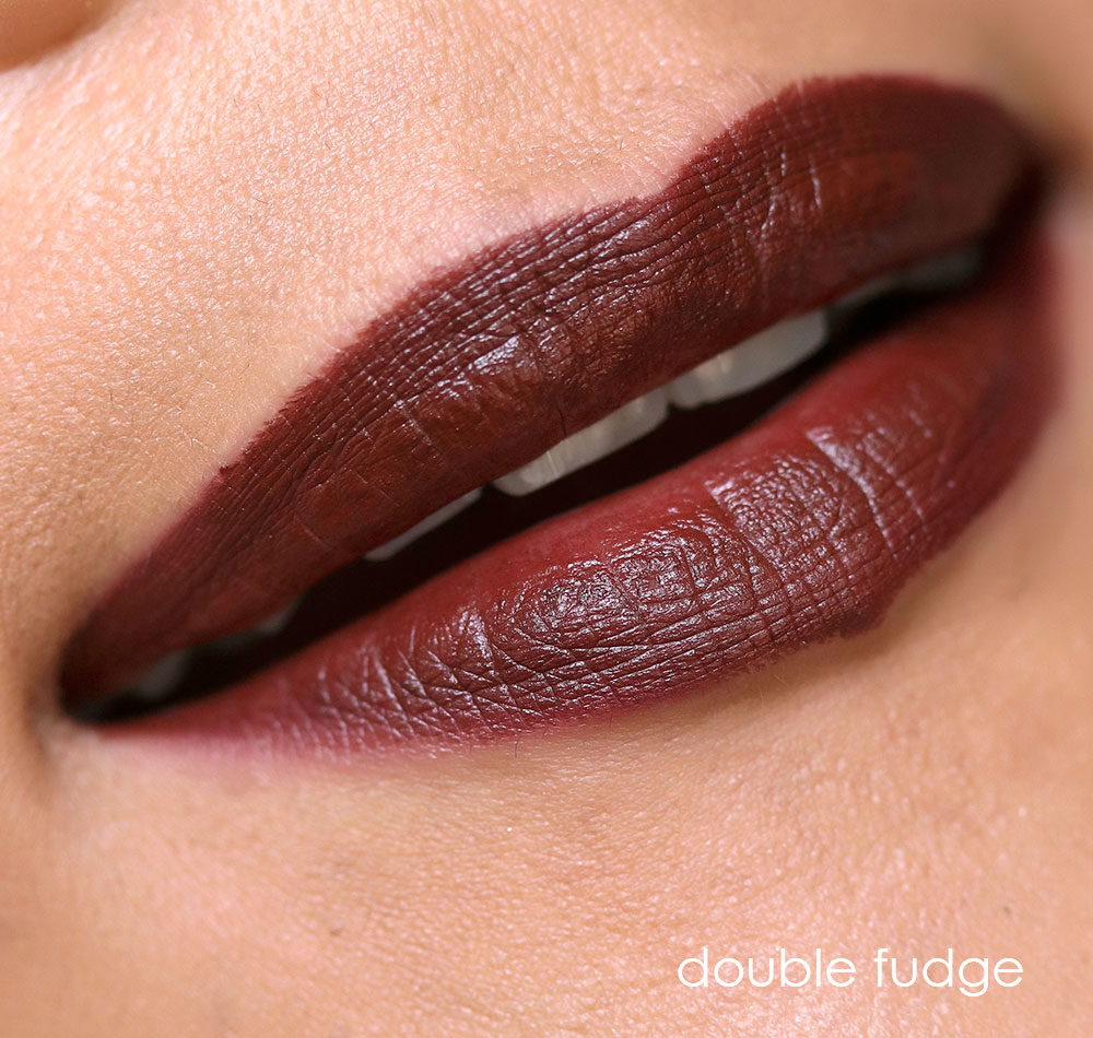 mac double fudge lipstick