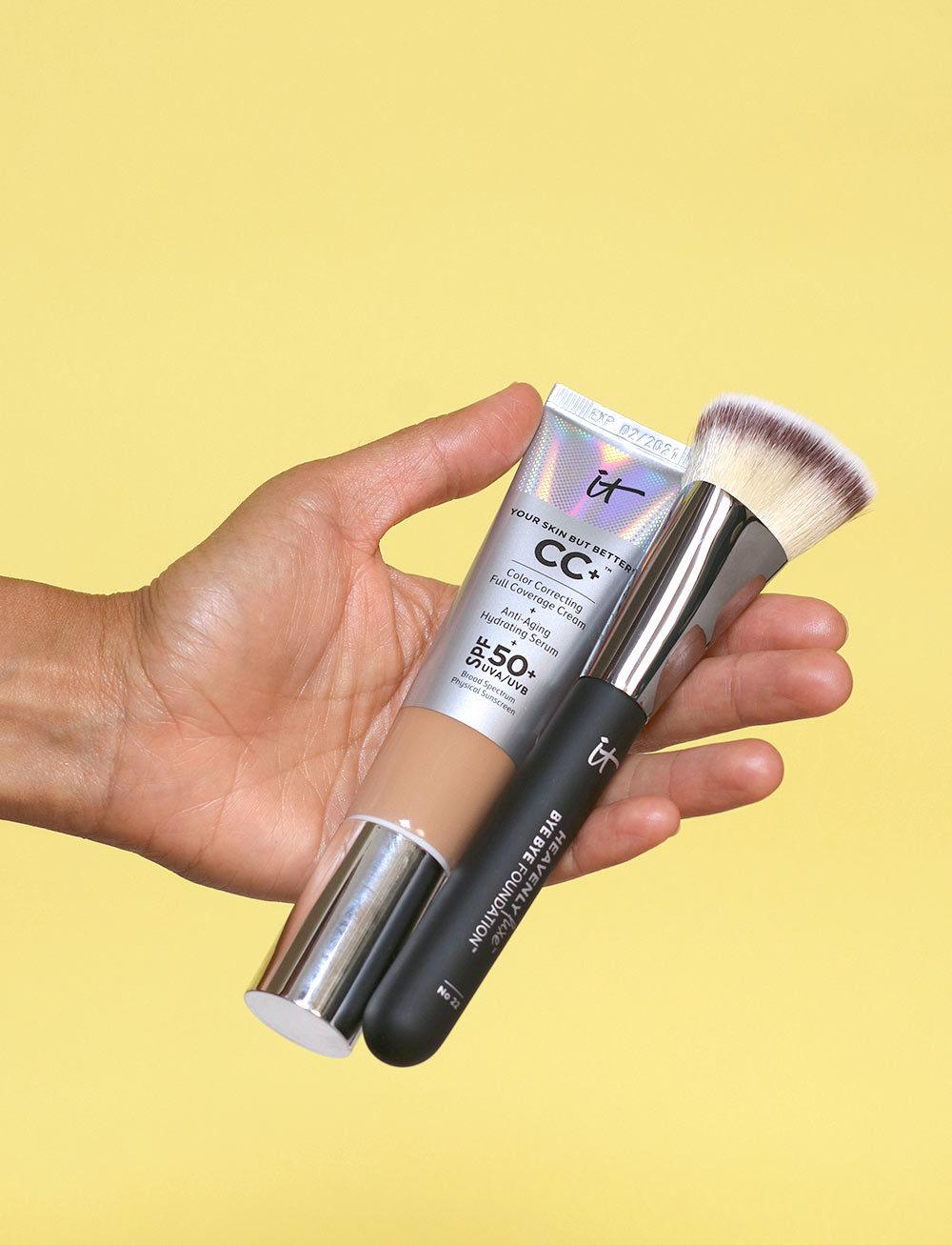 it cosmetics color correcting full coverage cream tan