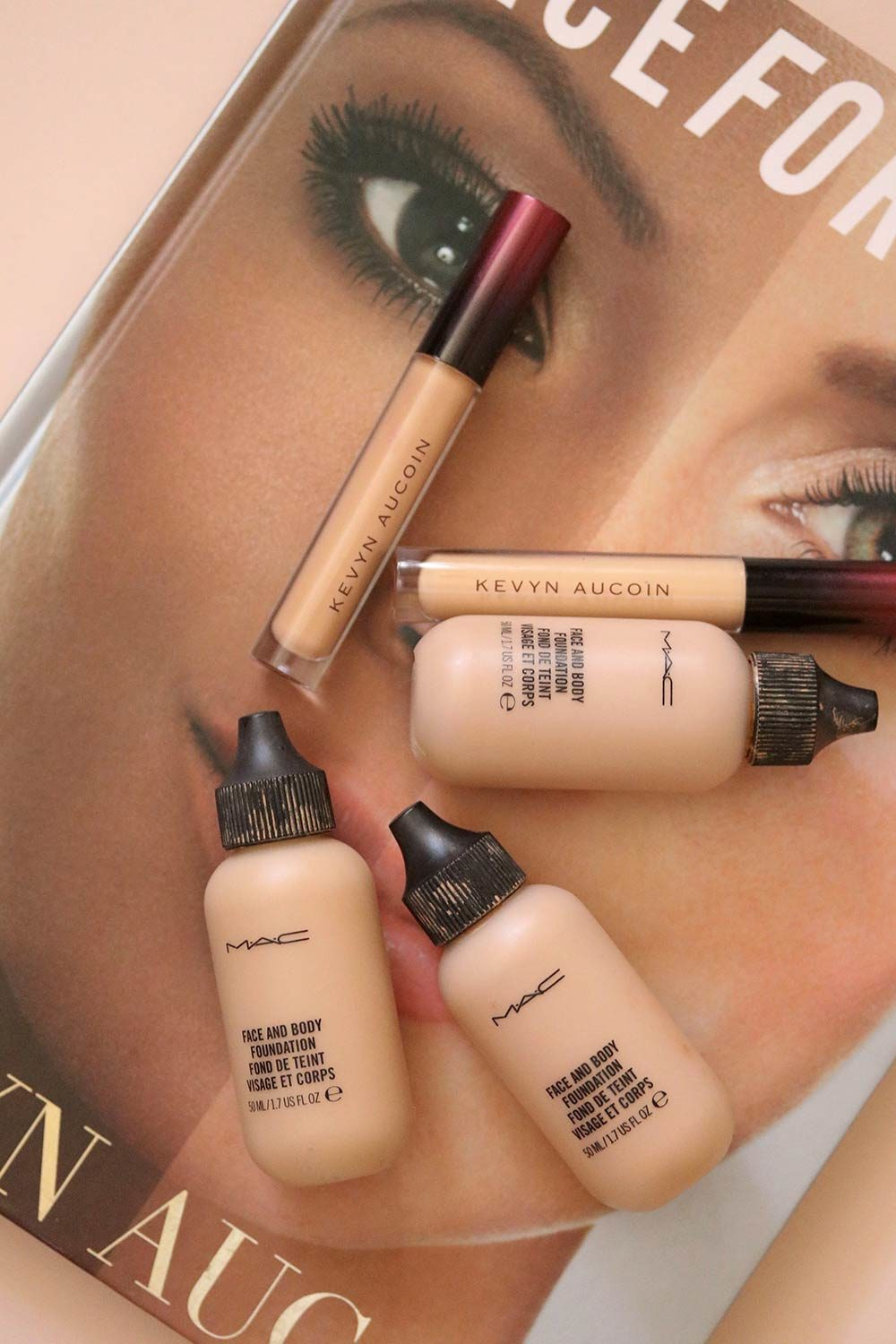 mac face and body kevyn aucoin etherealist