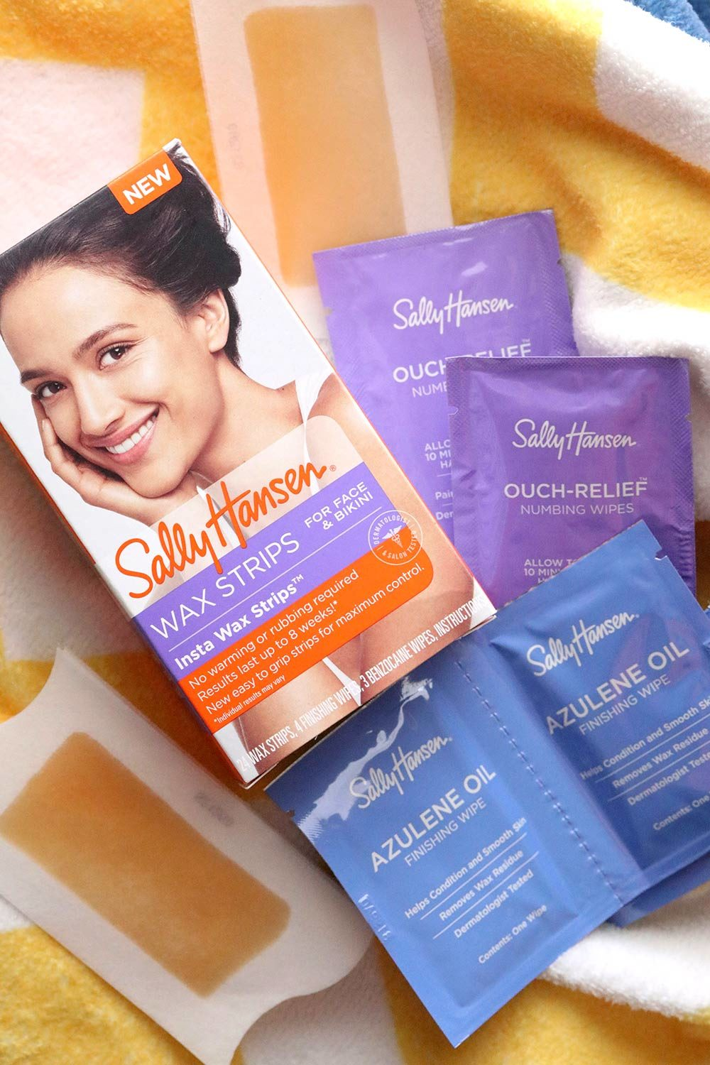 sally hansen wax strip review