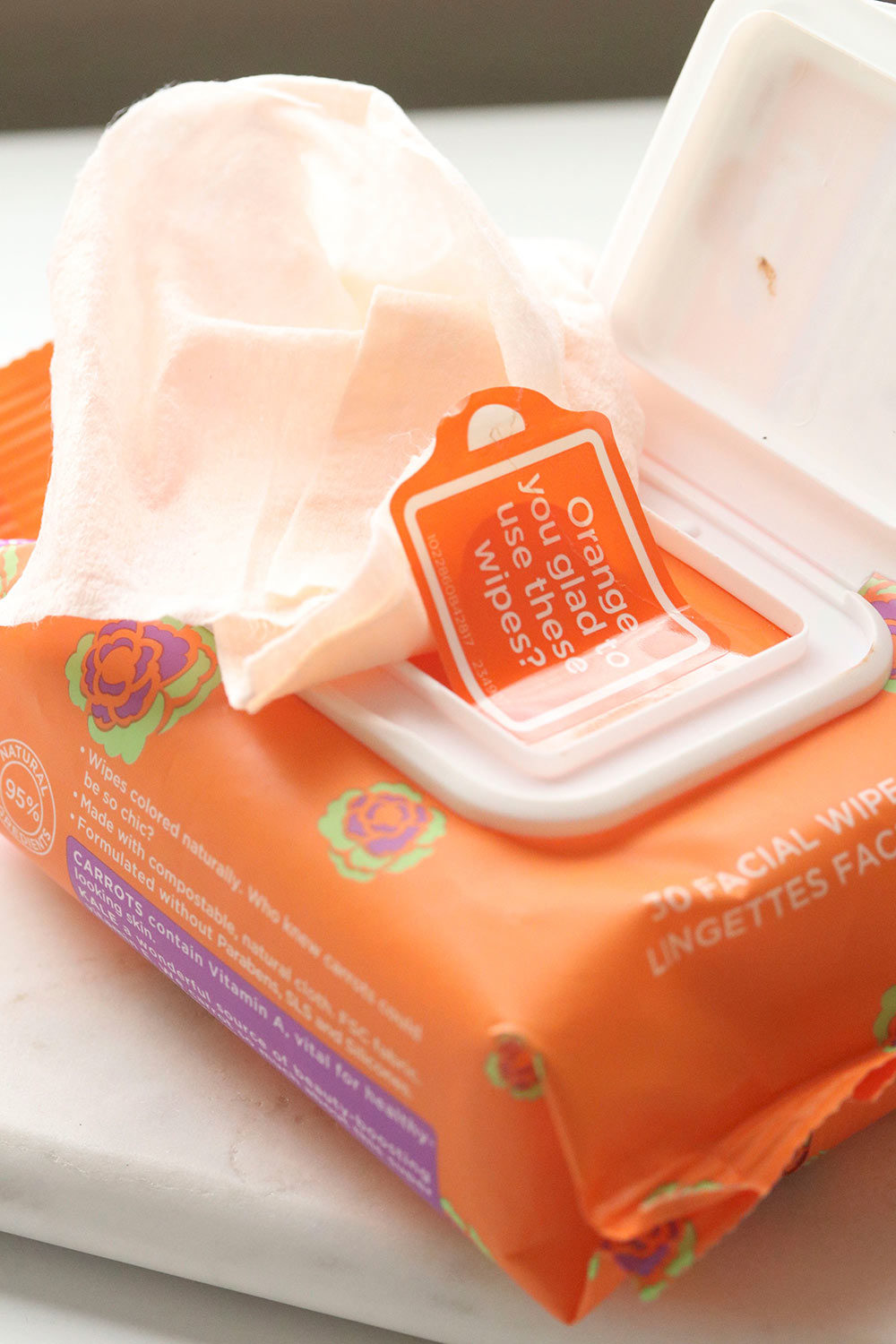 yes to carrots makeup wipes