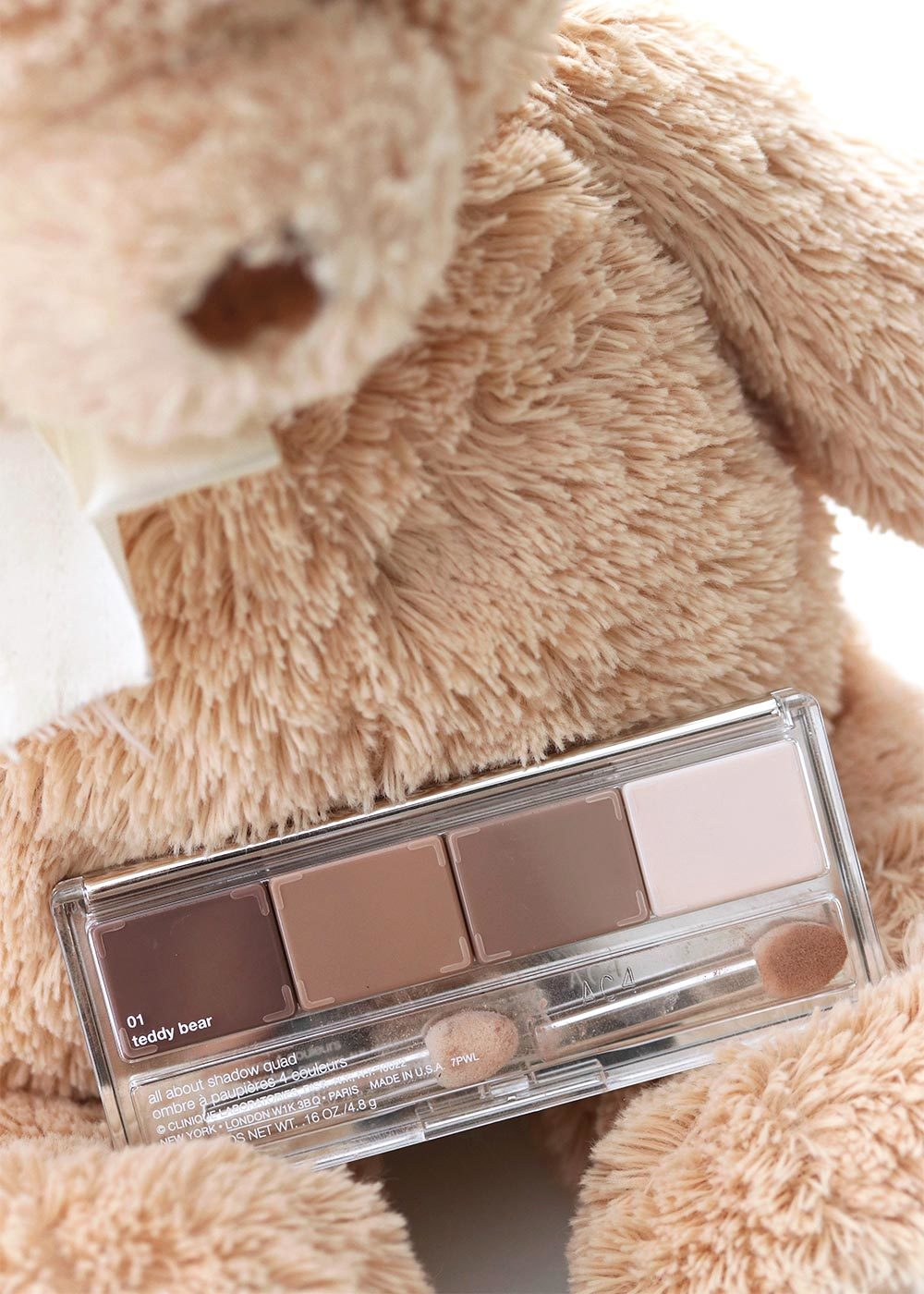 clinique teddy bear