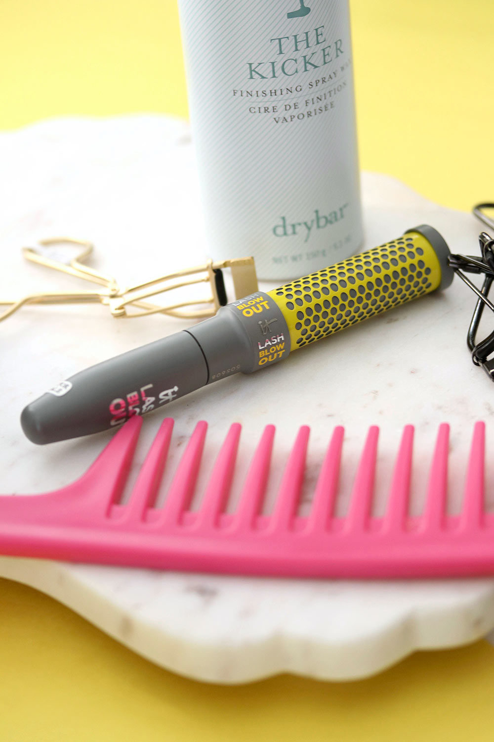 it cosmetics drybar lash blow out mascara