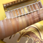 urban decay naked honey swatches
