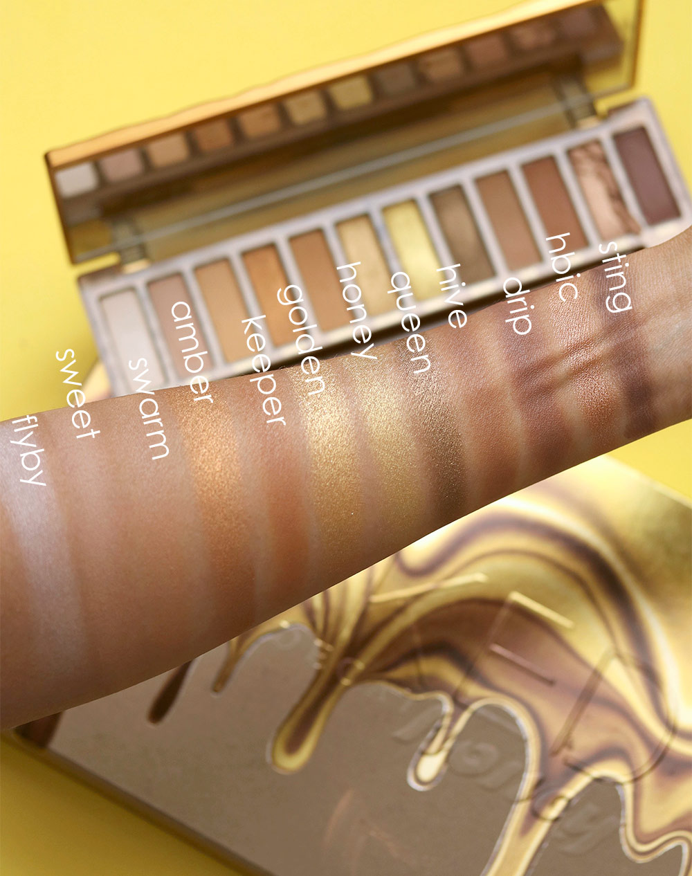 The New Urban Decay Naked Honey Is a Sweet New Golden Eyeshadow Palette