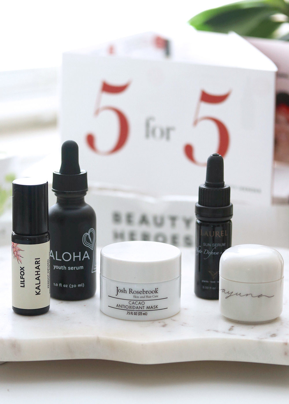 beauty heroes 5 for 5