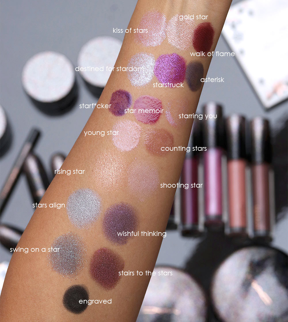 mac holiday 2019 swatches