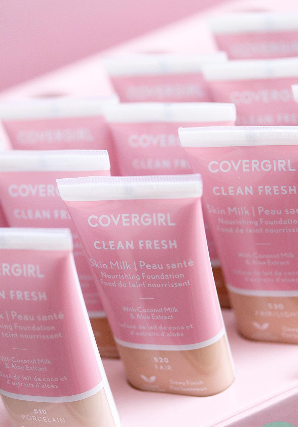 covergirl propre lait frais pour la peau