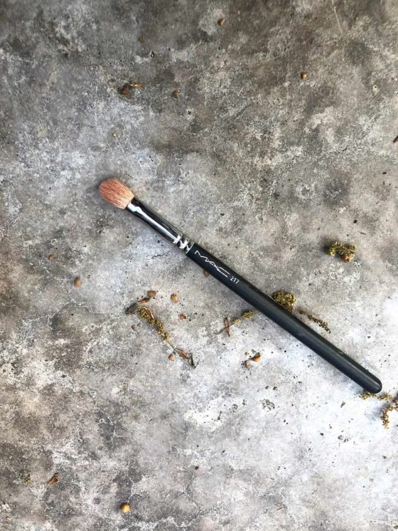The Mystery of the MAC 217 Brush…