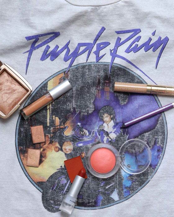 A Springy Purple and Orange Makeup Look Inspired By Purple Rain