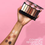 covergirl reverence palette swatches