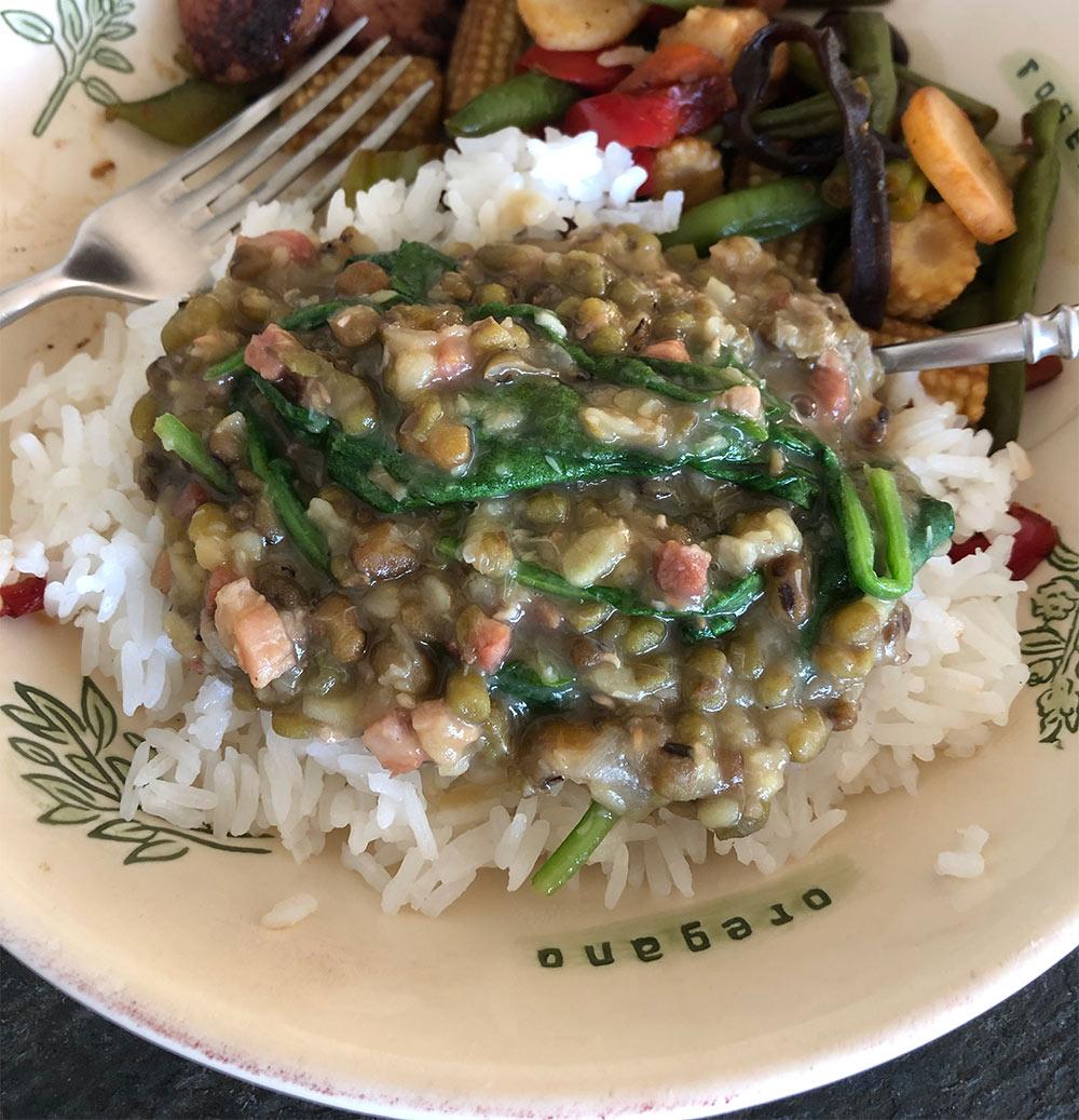 filipino mung bean stew
