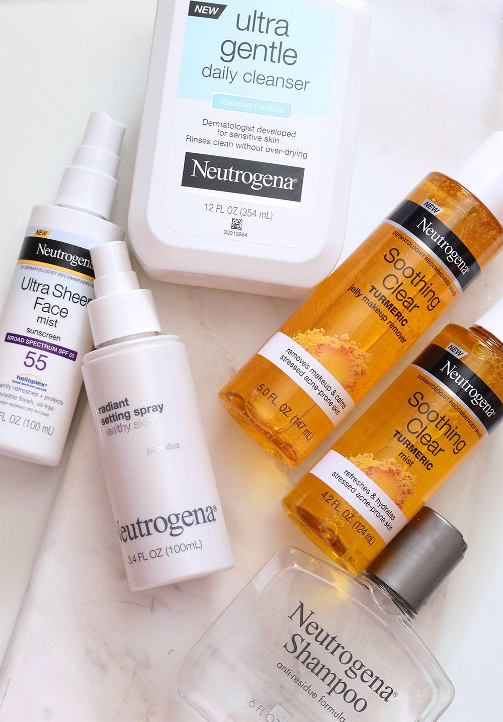 neutrogena skin care summer 2020