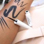 honest beauty liquid eyeliner swatch