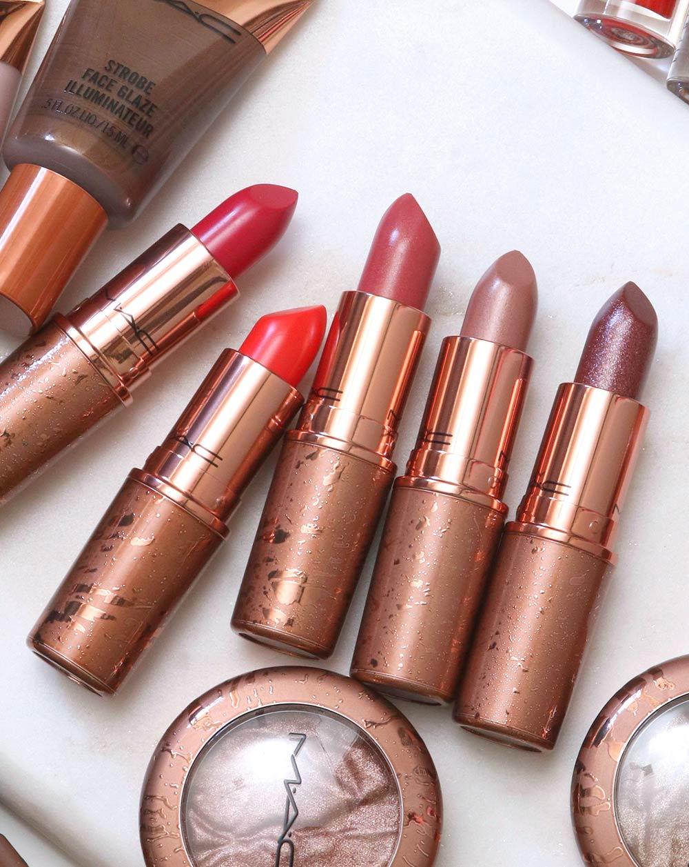 mac bronzer collection summer 2020 lipsticks
