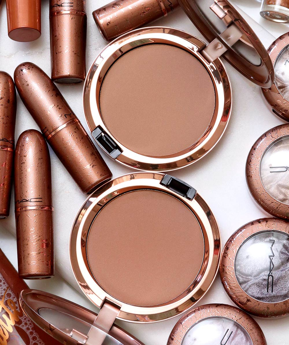 mac bronzer collection summer 2020 radiant matte bronzing powder