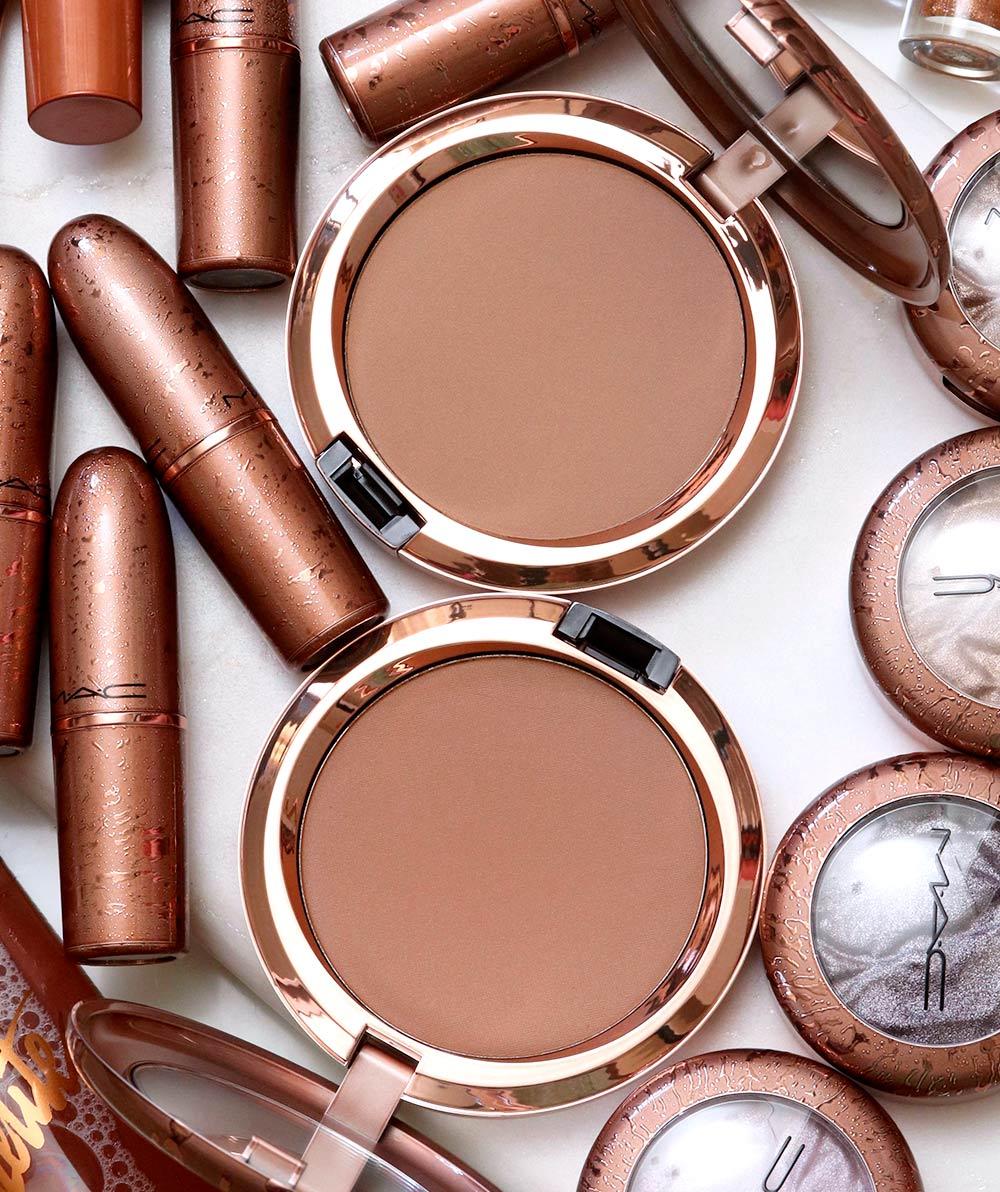 mac bronzer collection summer 2020 radiant matte bronzing powder