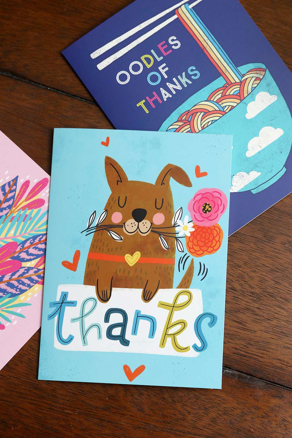 thank you cards tjs dog