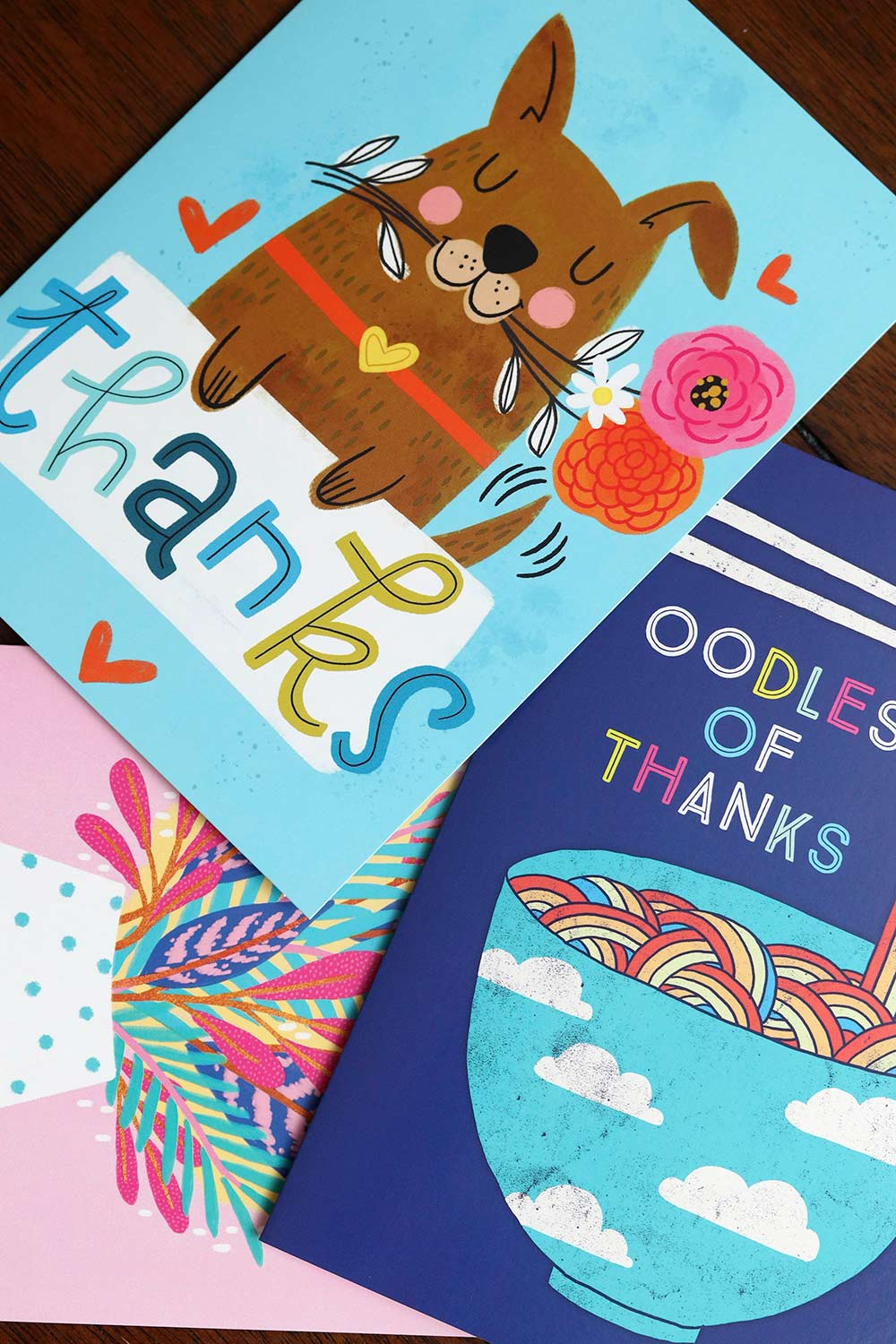 thank you cards tjs