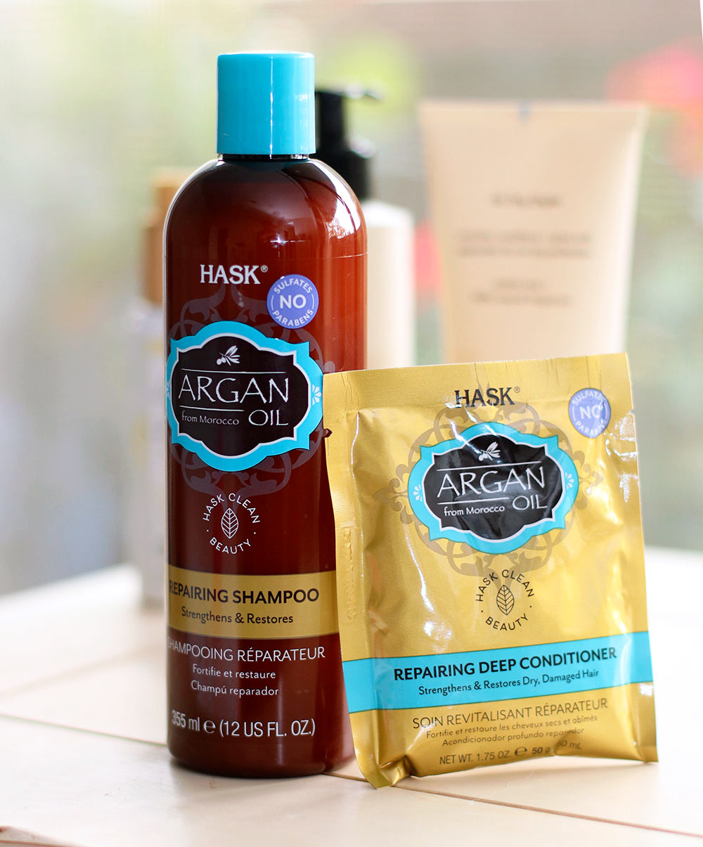hask argan oil mask shampoo