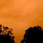 orange sky september 2020