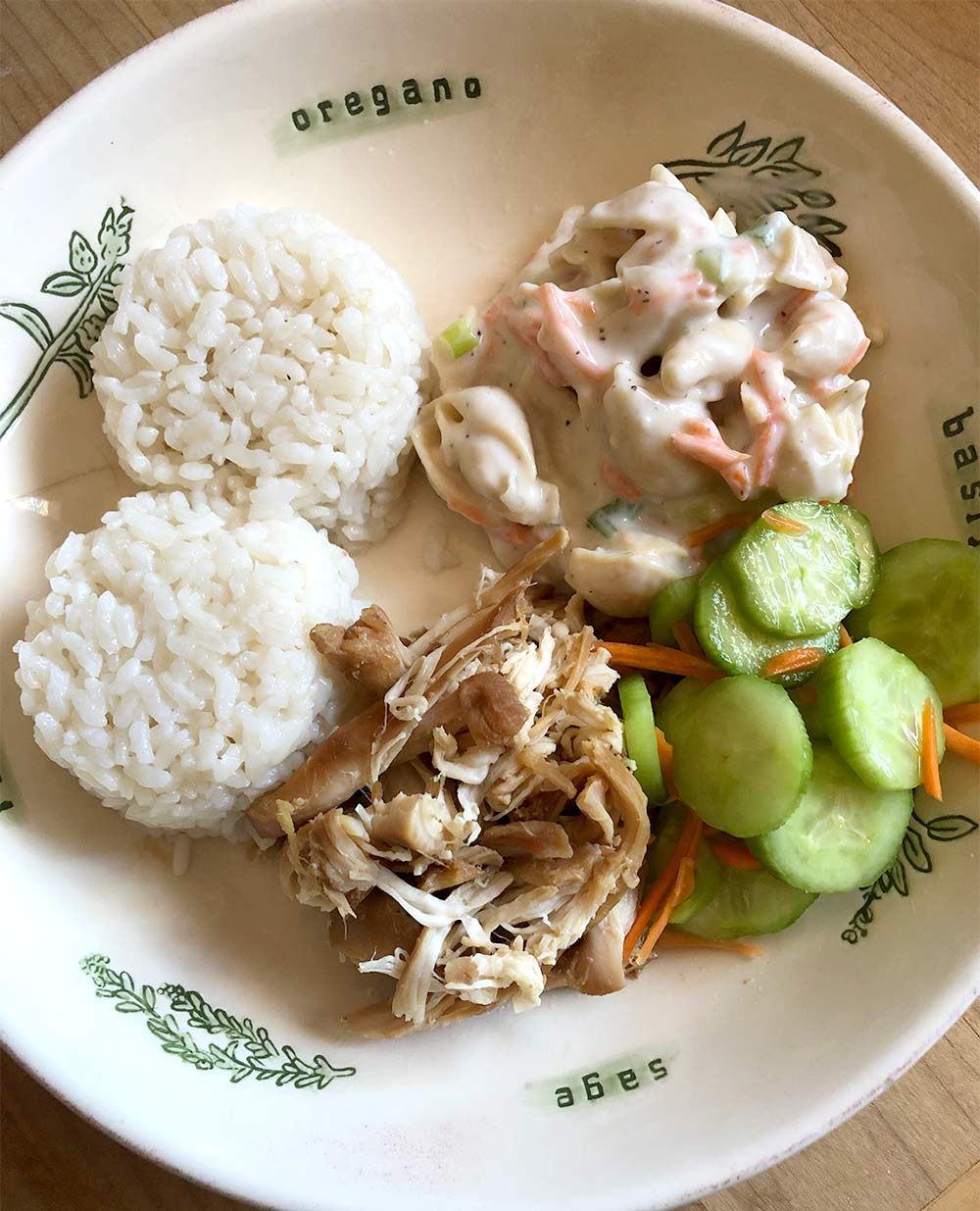 hawaiian chicken instant pot coconut rice
