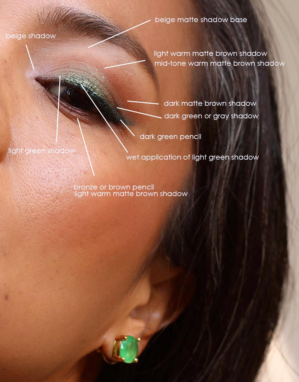 urban decay loaded liner mildew eyeshadow eyeshadow-layout 2