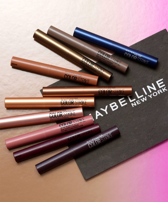 Product Spotlight: You'll Be Drawn to Maybelline Color Strike Cream-to-Powder Shadow Pens If You Love One-And-Done Eye Makeup