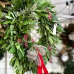 happy monday christmas wreath monday poll