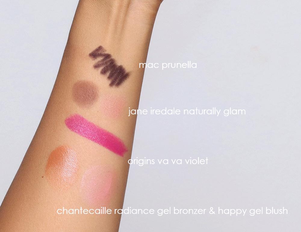 jane iredale naturally glam origins va va violet