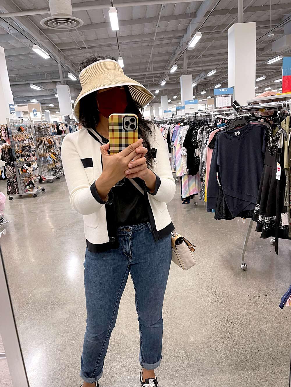 k in oversized visor