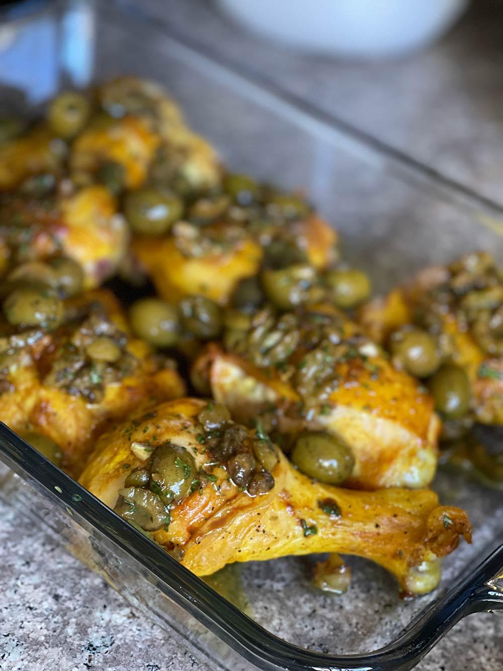 vinegar chicken olive