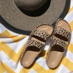 old navy leopard slides