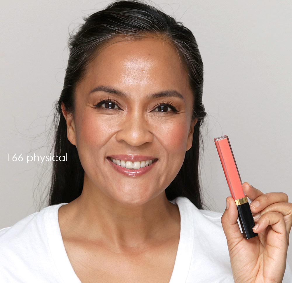 chanel rouge coco gloss 166 physical
