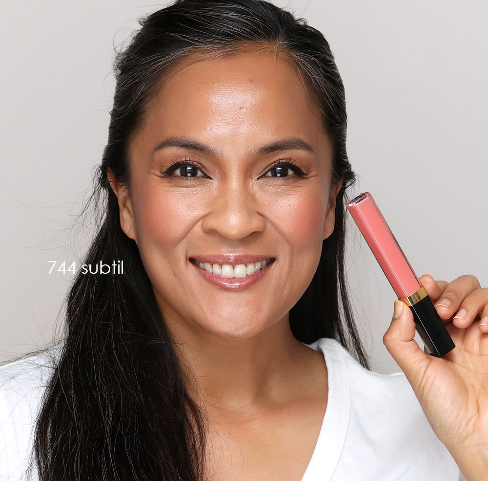 chanel rouge coco gloss 744 subtil