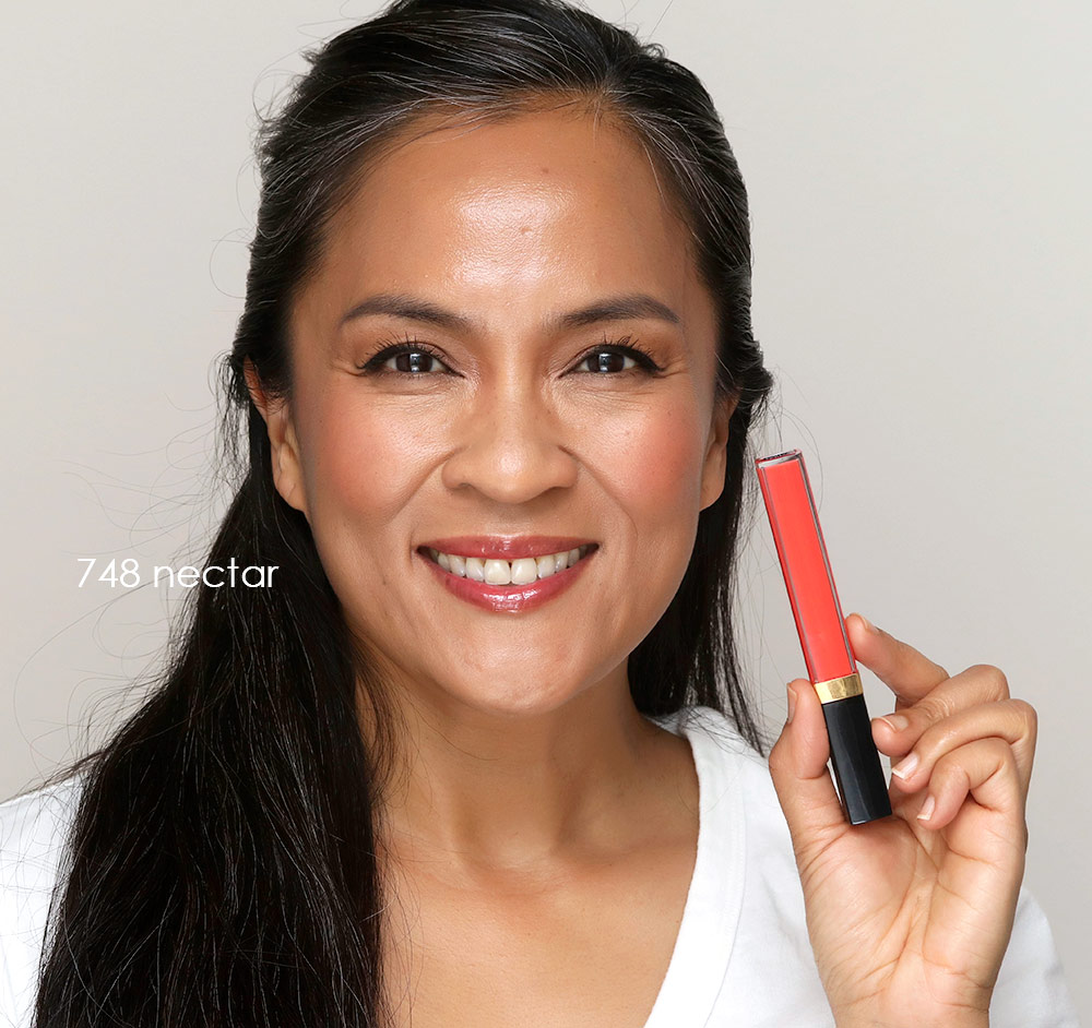 chanel rouge coco gloss 748 nectar