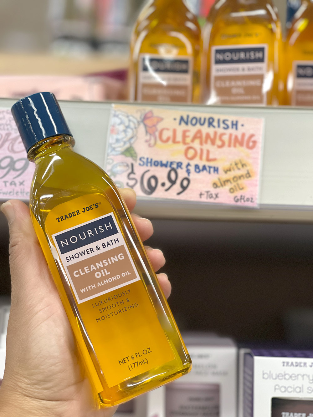 trader joes nourish cleansing oil